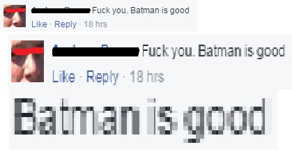 Batman-Comment